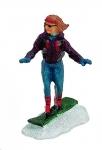 Lichthaus G.Wurm  Zubehör Miniatur Skifahrer Snowboard ca.6 cm diverse Modelle einzeln 10656f