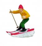 Lichthaus G.Wurm  Zubehör Miniatur Skifahrer Snowboard ca.6 cm diverse Modelle einzeln 10656h