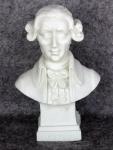 Büste Haydn Figur hochwertiger Kunstguß aus Italien 12 cm