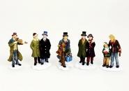 Lichthaus G.Wurm  Zubehör weihnachtliche Miniatur Personen 6 cm