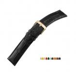 Di-Modell Echt Krokodil Lousiana Alligator Kroko Uhrarmband Uhrenband Wechselarmband