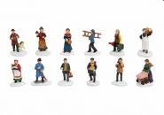 Lichthaus Wurm  Zubehör weihnachtliche Miniatur Winterszene Berufe Personen 6 cm