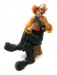 Clown Skatspieler links Claudio Vivian by Faro Italien Kunstguß Skulptur