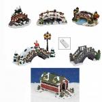Lichthaus G.Wurm  Zubehör weihnachtliche Miniatur Brücken diverse Modelle