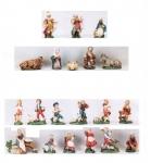 Krippe Krippenfiguren Zusatzteile für 10 cm Terracotta Figuren Italien