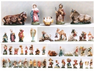 Krippe Krippenfiguren Zusatzteile für 14 cm Cartapesta Figuren Italien