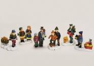 Lichthaus G.Wurm  Zubehör weihnachtliche Miniatur Winterszene Kinder Personen 5-6 cm