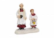 Lichthaus G.Wurm  Zubehör weihnachtliche Miniatur Pastor Messdiener 6 cm