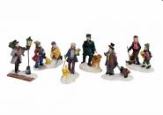 Lichthaus Wurm  Zubehör weihnachtliche Miniatur Winterszene Kinder Personen 5-7 cm
