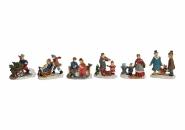 Lichthaus G.Wurm  Zubehör weihnachtliche Motive Miniatur Figuren 4-5 cm