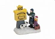 Lichthaus G.Wurm  weihnachtliche Miniatur Briefkasten Wunschzettel Kinder