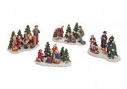 Lichthaus G.Wurm  Zubehör weihnachtliche Miniatur Weihnachts-Figuren-Gruppe diverse Modelle