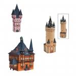Lichthaus Wurm KG. Porzellan Frankfurt Eschenheim Turm Rathaus Wernigerode für Teelicht