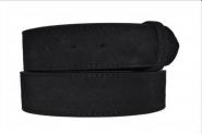 Velour Leder Gürtel Wechselgürtel schwarz Ledergürtel 4 cm breite