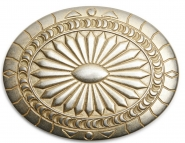 Schließe Buckle Gürtel-Schnalle Dark Side Dream Gold Wechselschließe für 4 cm Designer Gürtel