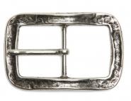 Dorn Wechsel Schließe Buckle Gürtel-Schnalle Capezzano silber Dornschließe für 4 cm Designer Gürtel