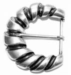 Schließe Gürtel-Schnalle Metall My Sofia Dornschließe für 4 cm Designer Schnallen