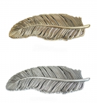 Schließe Buckle Wechselgürtel Gürtel-Schnalle Metall gold oder silber Feder für 4 cm Schnallen