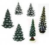 Lichthaus Wurm Zubehör Tanne Baum Weihnachtsbaum Tannen X-Mas breit schlank Schnee