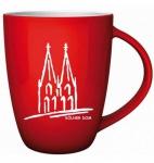 "Köln Colonia Cologne ""Becher"" Cab Pot Kaffee Tasse Souvenier Souvenir Deutschland"