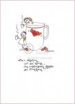 """Heidemarie Brosien Glücksengelchen Bilder Reproduktion """"Das Leben ist zu kurz, um schlechten Kaffee zu trinken!"""" Bild ohne Rahmen"""
