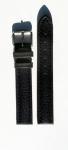 Uhrarmband Uhrenarmband Ersatzband Schließe Leder 16 mm blau bracelet freiburg