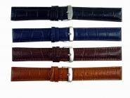Uhrarmband Uhrband Armband Schließe Leder-Band Wulst bracelet strap Kalimat