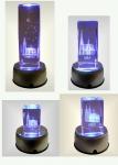 Kölner Dom Glas Cristal Laser Gravour Köln Dom LED beleuchtet