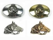 Schließe Buckle Gürtel-Schnalle Pferdekopf Designer Schnallen Wechselschließe