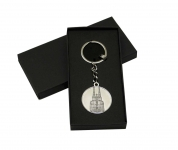 Schlüsselanhänger Key ring Metall Kölner Dom Köln Medaille Souvenir