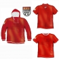 Kaputzen Jacke Polo Shirt T-Shirt Cologne mit Stick Wappen rot weiß Kölner Dom Skyline